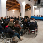 "Firenze , Fortezza da Basso, dal 22/10/2011   CONVEGNO: DISABILITA' MOTORIA IN TOSCANA ""REALTA' E PROSPETTIVE""  Fot. Adrian Sajko , ©2011 Adrian Sajko. All rights reserved.  *** Local Caption *** ©2011 Adrian Sajko. All rights reserved."