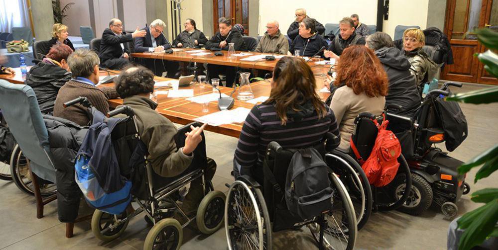 protesta disabili in regione toscana