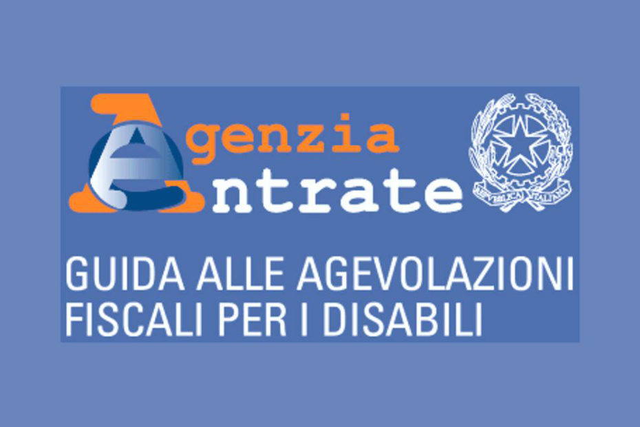 guida alle agevolazioni fiscali per i disabili