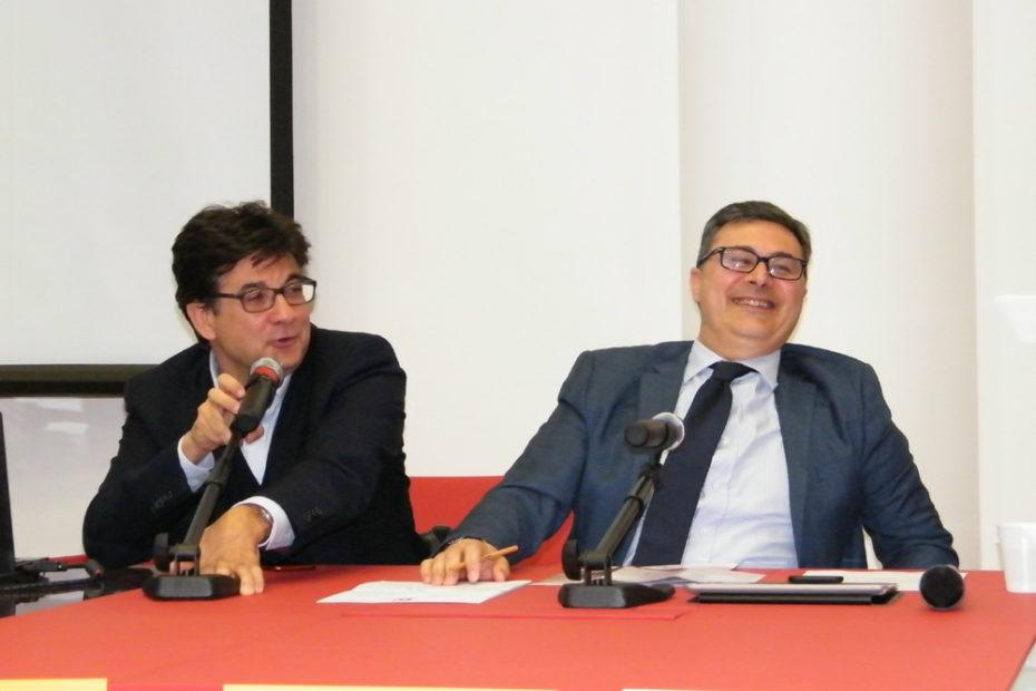 Luca Pancalli e Vincenzo Falabella