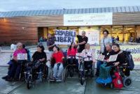 protesta disabili per la vita indipendente