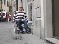 Umberto Materassi, referente per Prato dell'Associazione Toscana Paraplegici