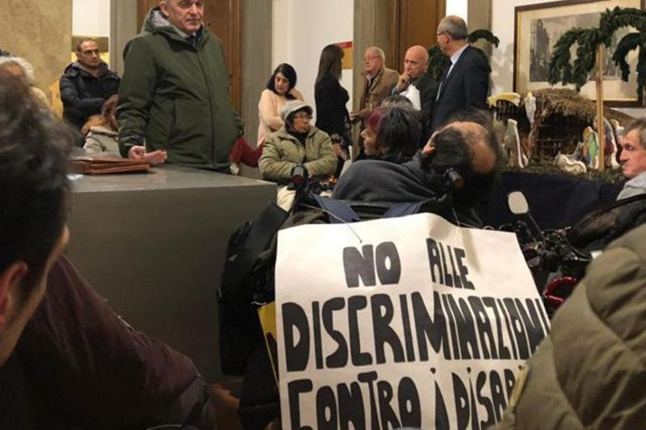 Vita Indipendente: interrotto il Consiglio regionale della Toscana