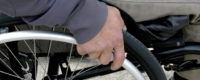 Ruota sedia a rotelle
