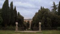 veduta da Villa Fabbricotti