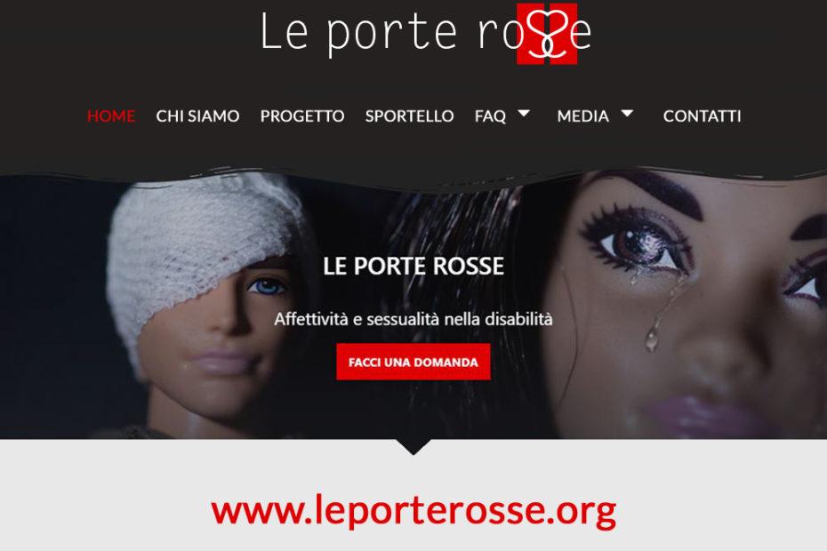 """home page del sito """"le porte rosse"""""""