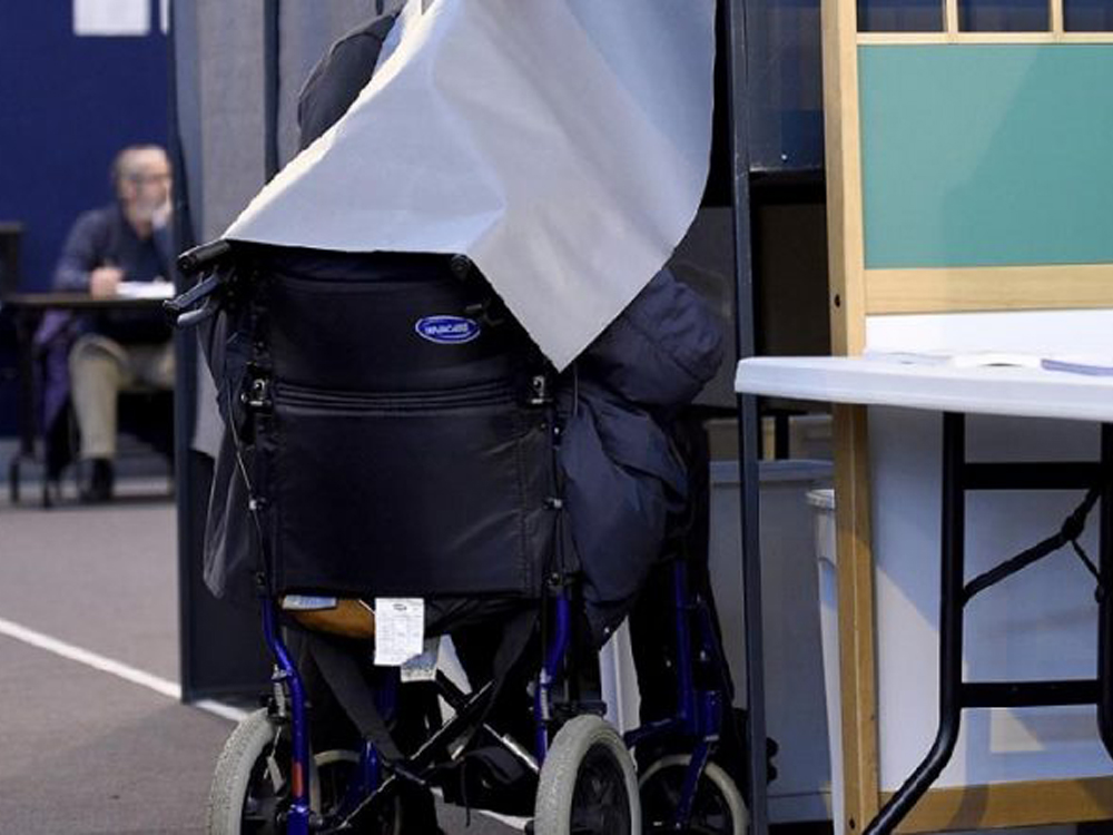 disabile al voto