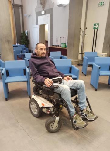 manifestazione dei disabili gravi davanti alla sede dellaGiunta Regionale Toscana-13