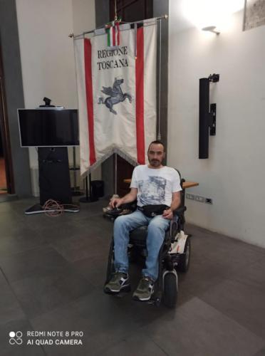 manifestazione dei disabili gravi davanti alla sede dellaGiunta Regionale Toscana-14